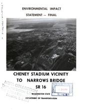 WA-16, Cheney Stadium to Tacoma Narrows Bridge: Environmental Impact Statement