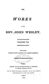 The Works of the Rev. John Wesley: Volume 7