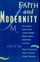 Faith and Modernity PDF
