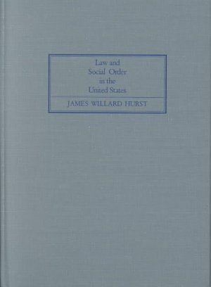 Law and Social Order in the United States PDF