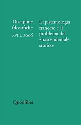 Discipline Filosofiche  2006 2