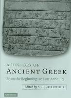 A History of Ancient Greek PDF
