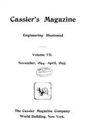 Cassier's Magazine: Volume 7