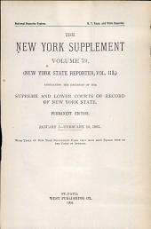 New York Supplement: Volume 79
