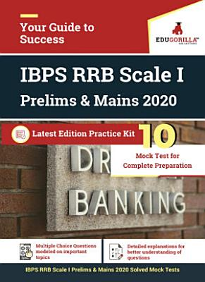 IBPS RRB Scale 1 Prelims   Mains 2020   10 Complete Mock Tests