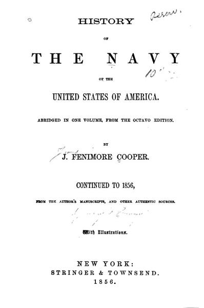 Download History of the Navy of the United States of America Book