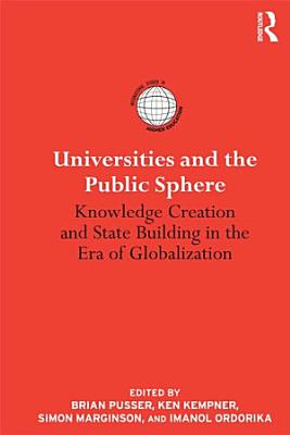 Universities and the Public Sphere PDF