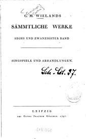 Versuch über das deutsche Singspiel