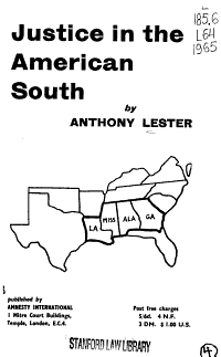 Justice in the American South