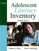 Adolescent Literacy Inventory  Grades 6 12