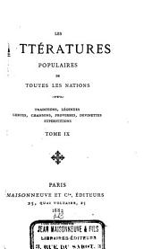 Traditions et superstitions de la Haute-Bretagne: Volume 9