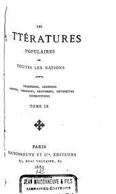 Traditions et superstitions de la Haute-Bretagne: Volume9