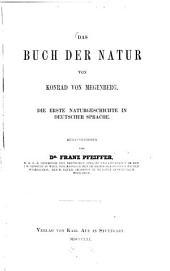 Das Buch der Natur, von Konrad von Megenberg: Die erste Naturgeschichte in deutscher Sprache