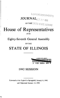 Journal of the House of Representatives PDF