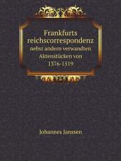 Frankfurts reichscorrespondenz