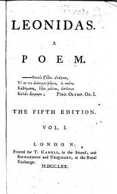 Leonidas: A Poem