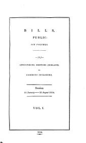 BILLS, PUBLIC: SIX VOLUMES