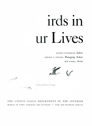 Birds In Our Lives Book PDF
