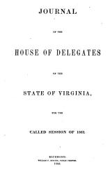 Journal of the House of Delegates of the State of Virginia PDF