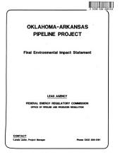 Oklahoma-Arkansas Pipeline Project (OK,AR,MS): Environmental Impact Statement