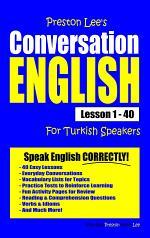 Preston Lee's Conversation English For Turkish Speakers Lesson 1 - 40