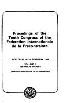Download Congress of the F  ed  eration Internationale de la Pr  econstrainte Book