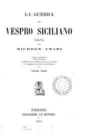 La guerra del vespro siciliano: Volume 1