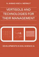 Vertisols and Technologies for their Management PDF