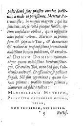 Pinacotheca Imaginum, Illustrium, doctrinae vel ingenii laude, Virorum, qui, auctore superstite, diem suum obierunt: Volume 1