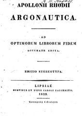 Apollonii Rhodii Argonautica
