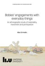Babies' engagements with everyday things
