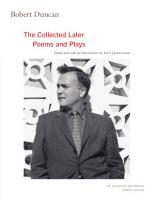 Robert Duncan PDF