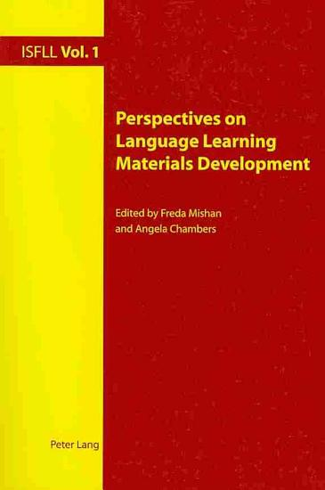 Perspectives on Language Learning Materials Development PDF