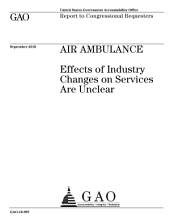 Air Ambulance: Effects of Industry Changes on Services are Unclear