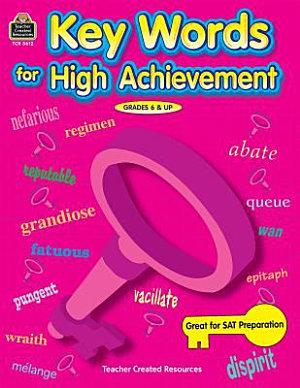 Key Words for High Achievement PDF