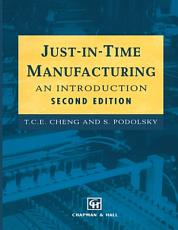 Just in Time Manufacturing PDF