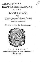 Sacra Rappresentazione Di San Lorenzo