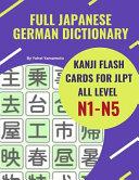 Full Japanese German Dictionary Kanji Flash Cards for JLPT All Level N1 N5 PDF