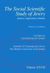 The Social Scientific Study Of Jewry Book PDF