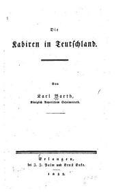 Die Kabiren in Teutschland