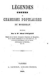 Légendes, contes et chansons populaires du Morbihan