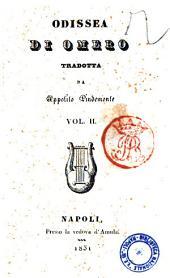 Odissea di Omero tradotta da Ippolito Pindemonte: Vol. 2, Volume 2