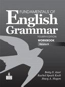 Fundamentals of English Grammar Workbook PDF