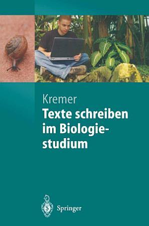 Texte schreiben im Biologiestudium PDF
