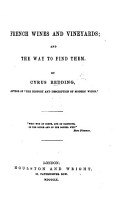 French Wines and Vineyards PDF
