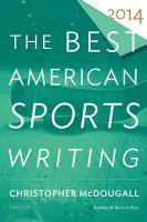 The Best American Sports Writing 2014 PDF