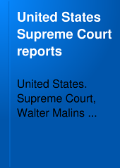 United States Supreme Court Reports: Volumes 251-253