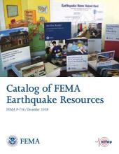 Catalog of FEMA Earthquake Resources