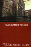 Social Science and Power in Indonesia PDF