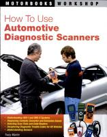 How to Use Automotive Diagnostic Scanners PDF